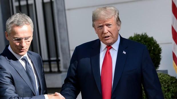 Trump, nada más llegar a Europa: «Alemania está completamente controlada por el gas de Rusia»