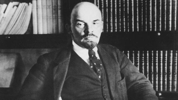 Vladímir Ilich Uliánov, alias Lenin, en una imagen de 1917