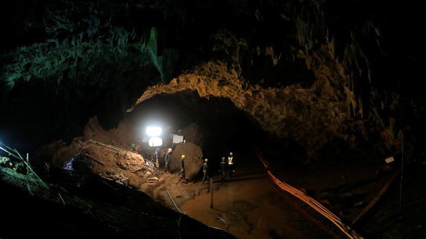 La cueva de Tham Luang donde se quedaron atrapados los niños tailandeses y su entrenador se convertirá en un museo