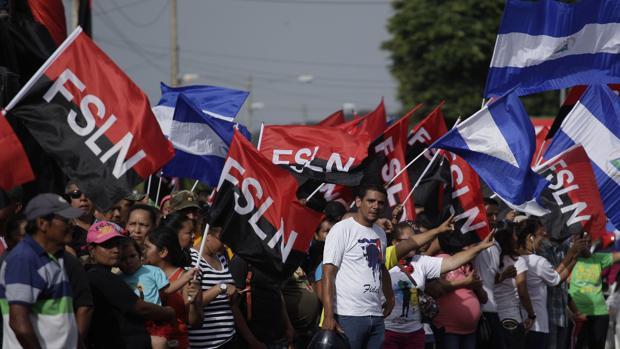 Dos muertos durante los enfrentamientos en Nicaragua tras el discurso de Daniel Ortega