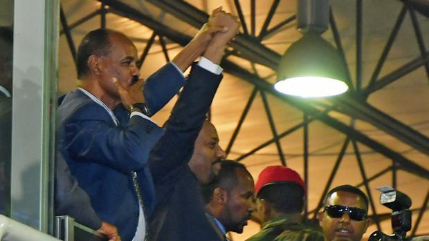 Eritrea y Etiopía sellan dos décadas de guerra fronteriza