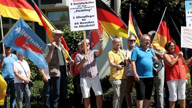 Los ultras alemanes son ya el segundo partido más votado en las encuestas