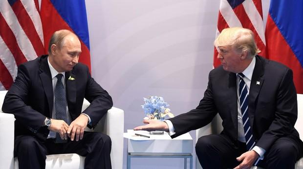 Trump dice que saldrán «muchas cosas positivas» de su reunión con Putin