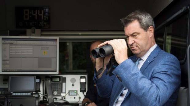 Alemania inicia los controles fronterizos entre Austria y Baviera