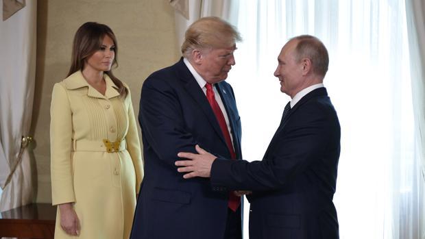 Trump invita a Putin a la Casa Blanca en otoño