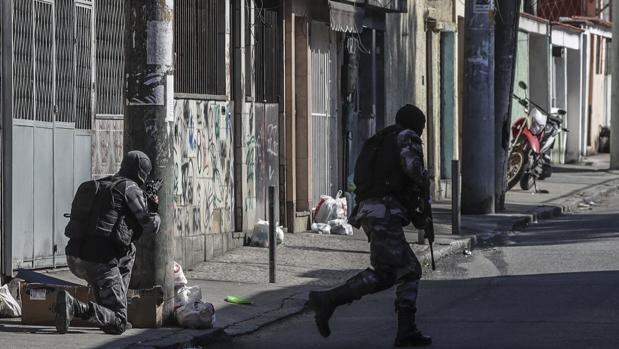 Policías militares brasileño, en una imagen de archivo