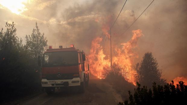 Al menos 50 muertos y más de 150 heridos por los incendios en Grecia