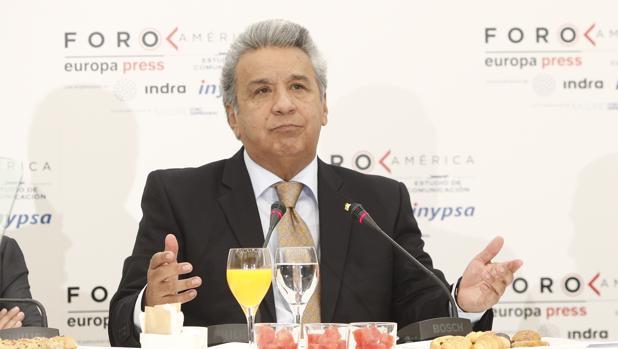 Lenín Moreno busca una «salida» para Assange con «la garantía de que su vida no corre peligro»