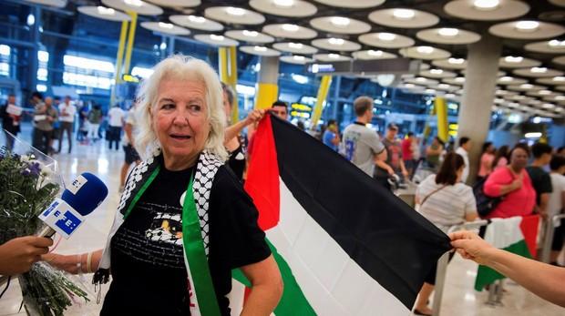 Israel deporta a la segunda activista española que viajaba hacia Gaza