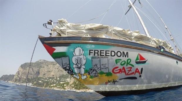 Israel intercepta otro barco de la flotilla que trata de romper el bloqueo a la Franja de Gaza