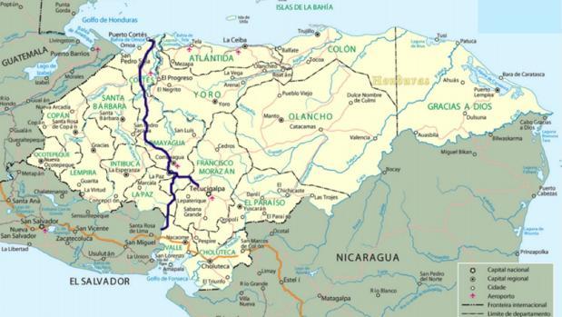 Honduras ultima un canal seco para unir el Atlántico y el Pacífico