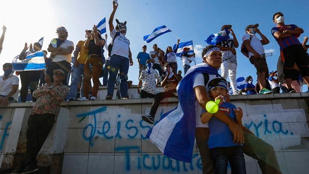 Un muerto y dos heridos en la marcha por libertad de los «reos políticos» en Nicaragua