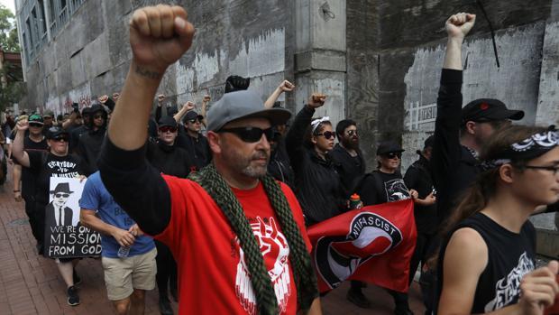 Máxima tensión en EE.UU. ante el aniversario de las marchas supremacistas de Charlottesville