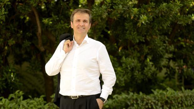 Manuel Erice, en la feria del libro