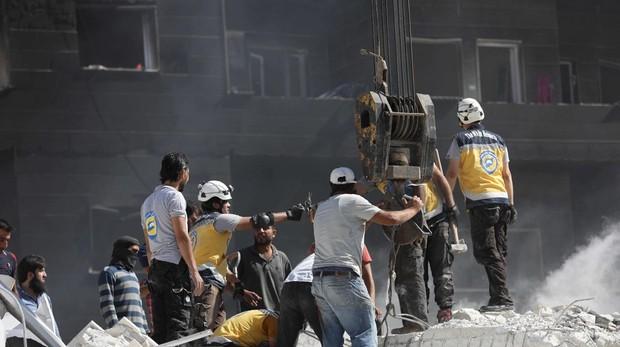 Al menos 39 civiles muertos en una explosión en el noroeste de Siria