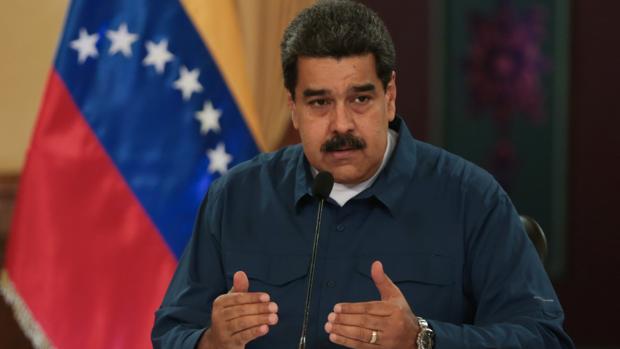El presidente venezolano, Nicolás Maduro, en el Palacio de Miraflores en Caracas