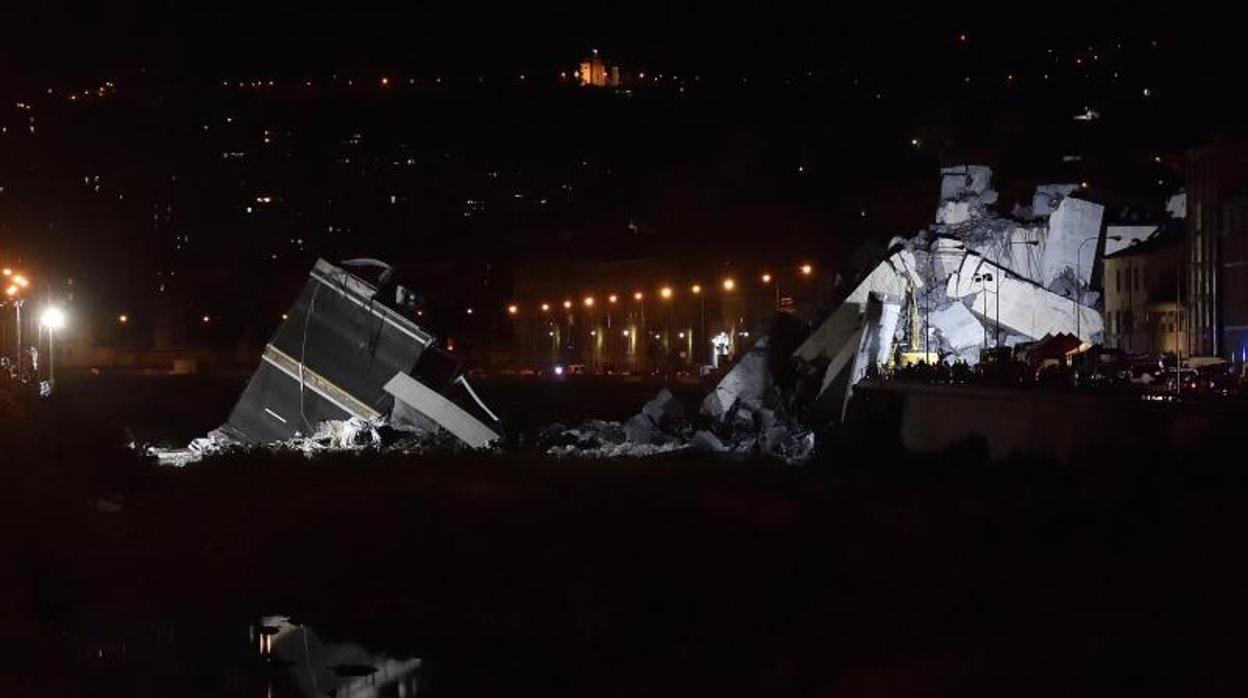 Las víctimas del desastre de Génova