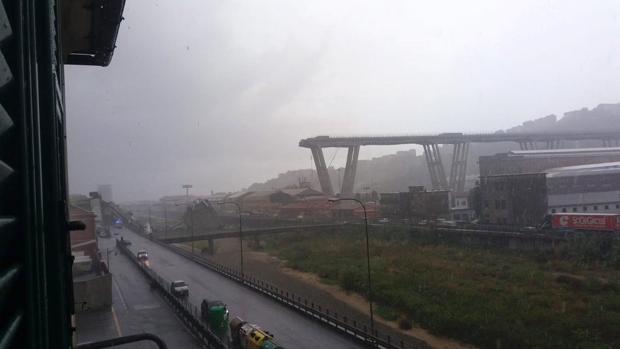 Diez puentes se han desplomado en Italia en los últimos cinco años