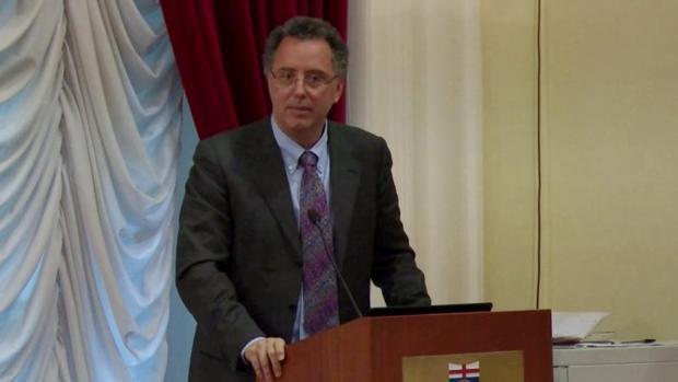 Antonio Brencich, profesor de Construcciones de cemento armado de la Universidad de Génova