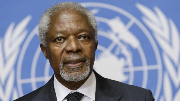 Expresó Presidente Cubano condolencias por fallecimiento de Kofi Annan