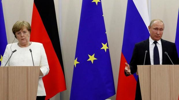 Nervios en Berlín por la visita de Putin