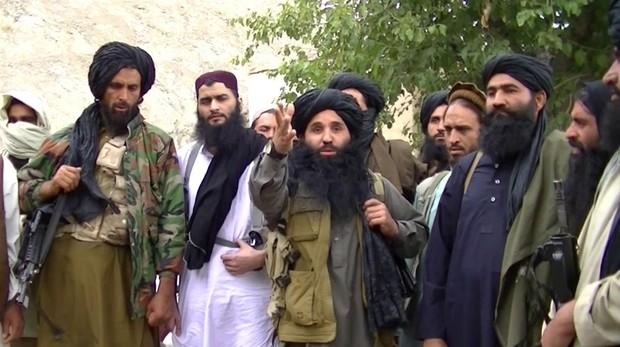 Foto de archivo de talibanes