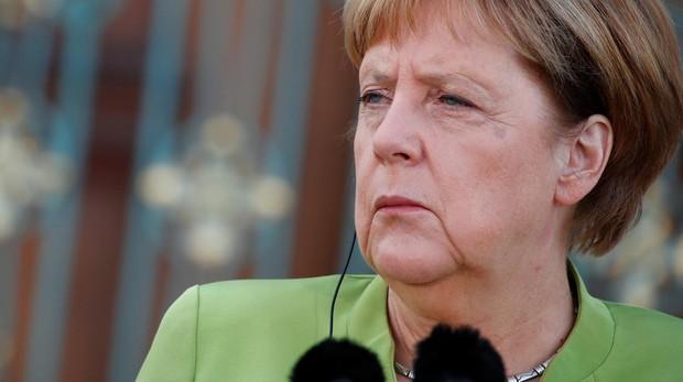 Foto reciente de Merkel