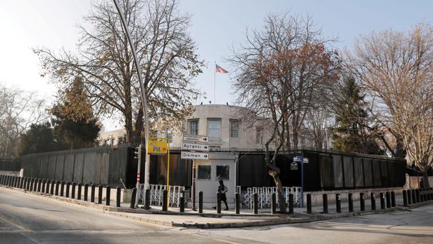 La embajada de EE.UU. en Ankara