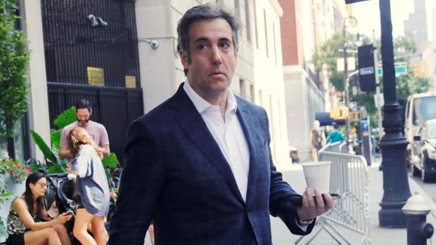 El abogado de Trump se declara culpable e implica al presidente