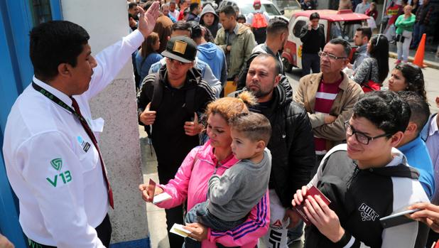 «Si me quedo en Venezuela, morimos mi familia y yo»