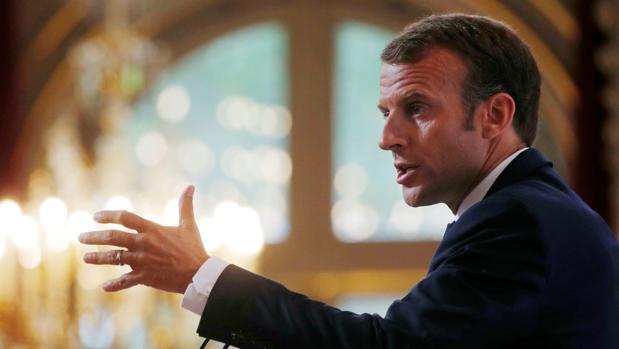 Macron asegura que «Europa ya no puede entregar su seguridad a Estados Unidos»