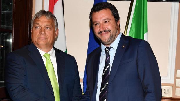 Orban cierra filas con Salvini: «Parar la inmigración es posible»