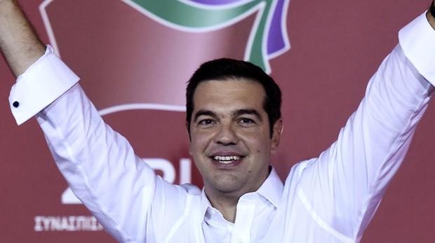 El presidente de Grecia, Alexis Tsipras