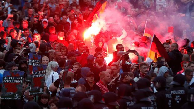 Policías afines a los ultras filtran datos de los acusados de matar a un alemán