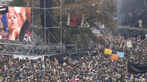 La juventud alemana contesta a la extrema derecha: «Nosotros somos más»