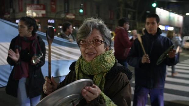 Miles de trabajadores estatales protestan contra Macri