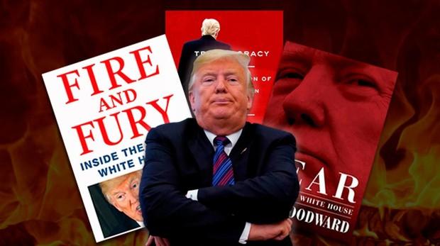 Los libros que hacen temblar a Donald Trump