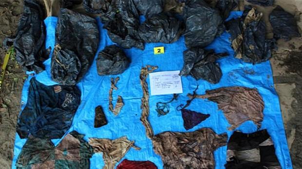 Encuentran 166 cráneos en un «cementerio clandestino» en el estado de Veracruz