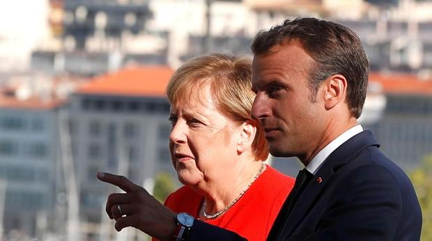 Macron y Merkel buscan una alianza sobre inmigración
