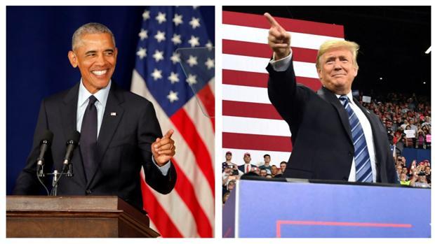 Durísimos ataques entre Trump y Obama en la lucha de las legislativas