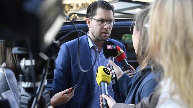 El líder de Demócratas de Suecia, Jimmie Akesson
