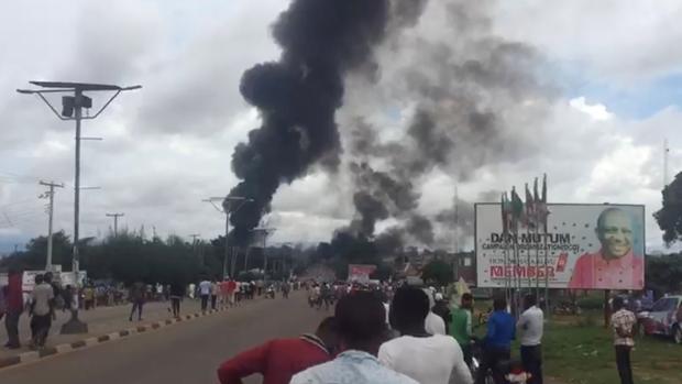 Al menos 35 muertos en una explosión de gas en Nigeria
