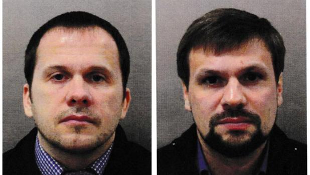 Alexander Petrov y Ruslan Boshirov, buscados por el caso Skripal