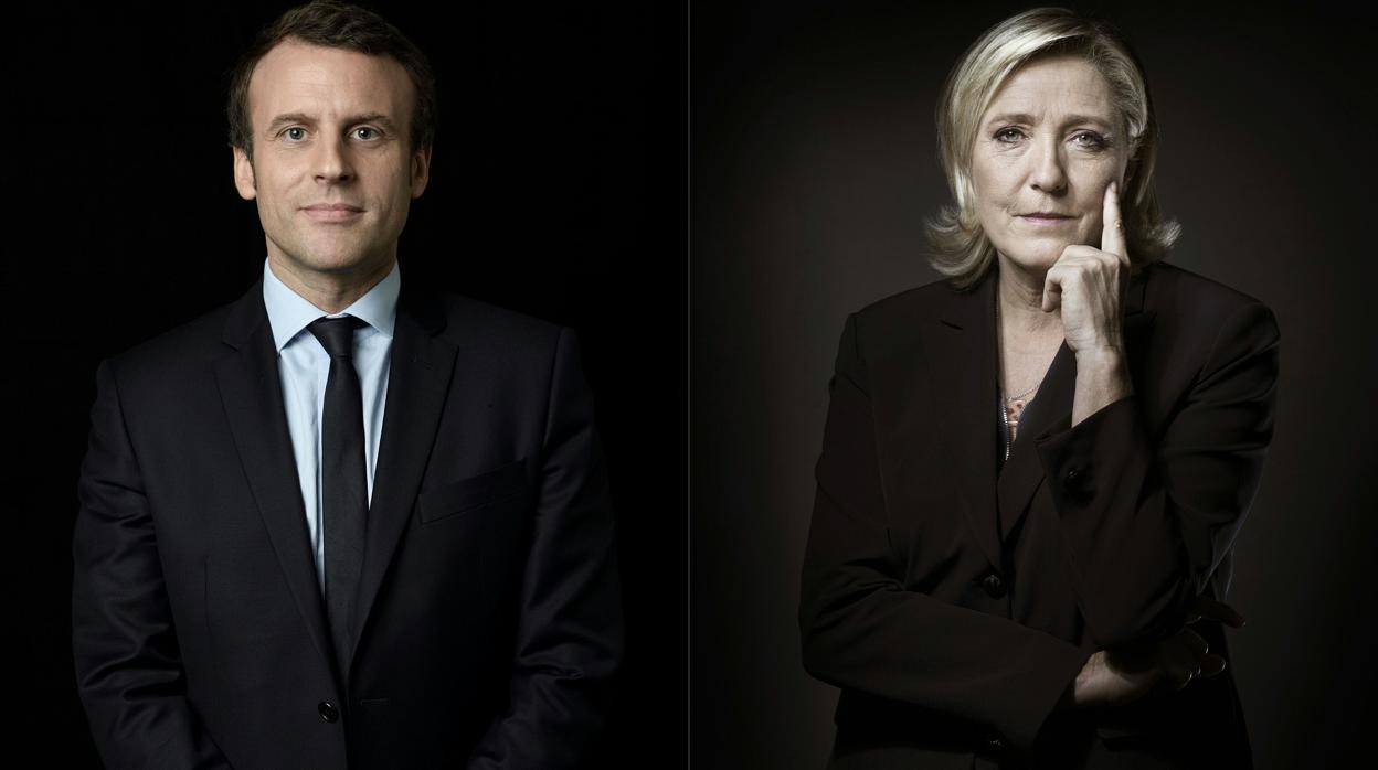 Los franceses quieren un nuevo duelo entre Macron y Le Pen