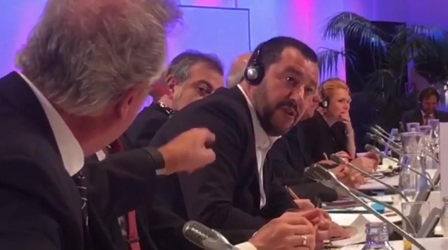 El ministro de Luxemburgo pierde la paciencia con Salvini: «¡A la mierda!»