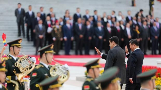Maduro afirma que China financiará el crecimiento de la producción de petróleo en Venezuela