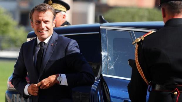 Macron, presidente de la República francesa