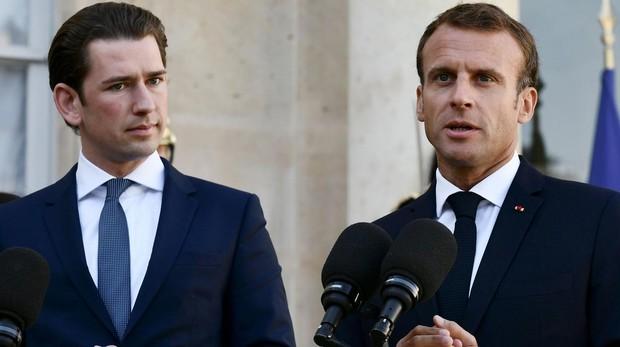 Macron y Kurtz proponen una cumbre Europa-África sobre inmigración