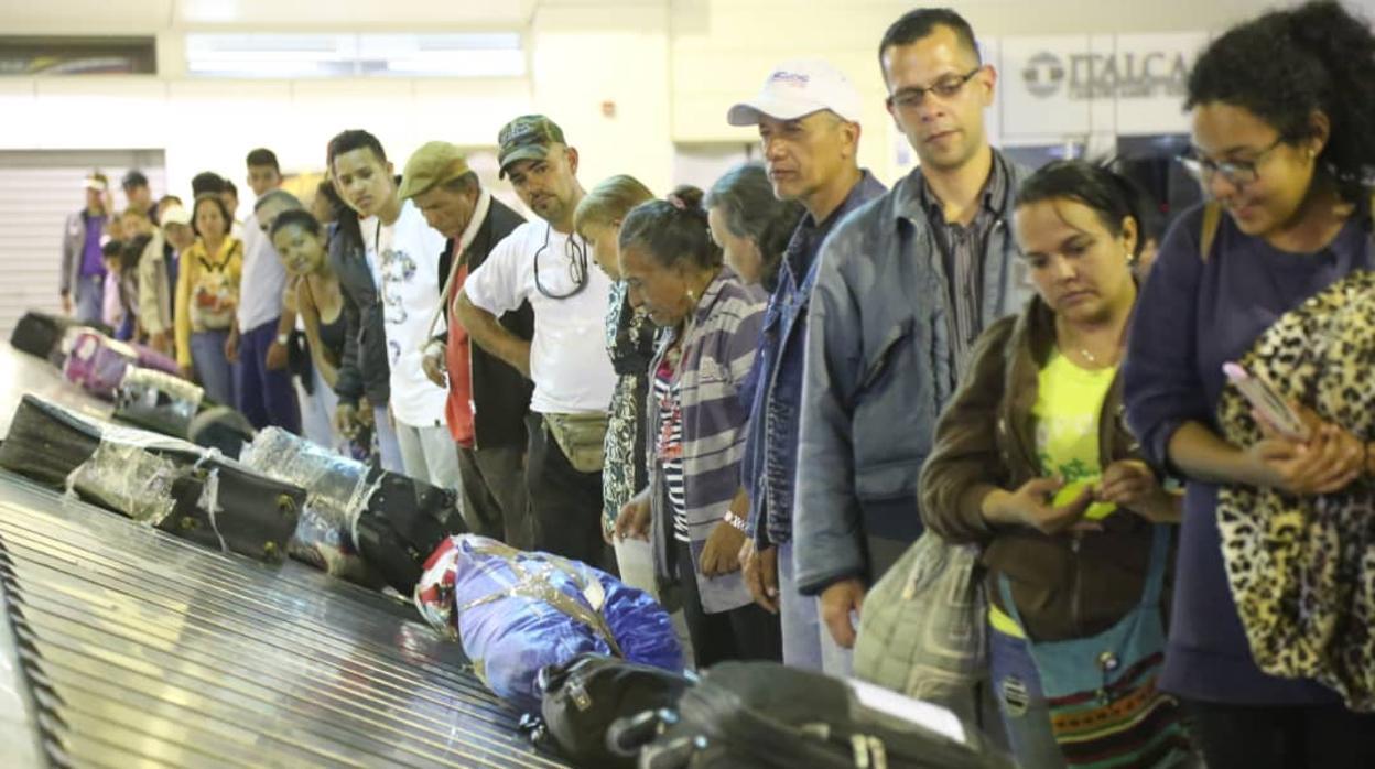 Maduro organiza un plan de «Regreso a la patria» que es un fracaso