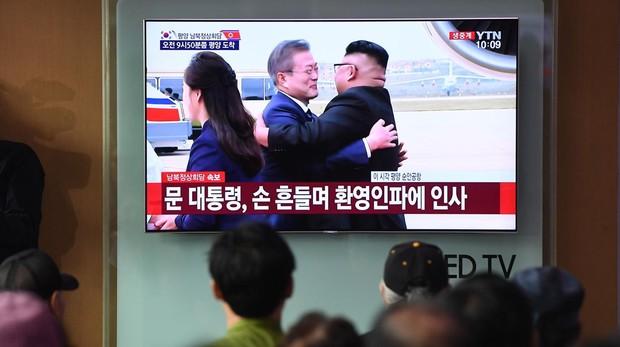 El presidente de Corea del Sur llega a Pyongyang para su tercera cumbre con Kim Jong-un